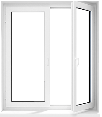 Красивые окна одноэтажного дома